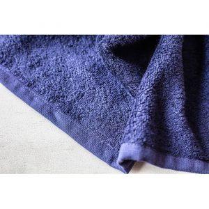 Ručnik BROKULA KORNATI, tamno plavi, 30*50