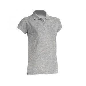 Ženska polo majica kratkih rukava, siva
