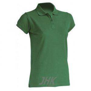 Ženska polo majica kratkih rukava, kelly zelena