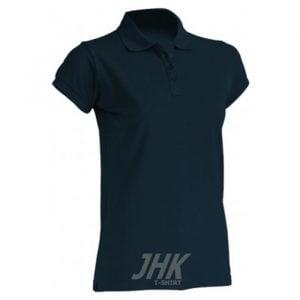 Ženska polo majica kratkih rukava, tamno plava
