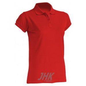 Ženska polo majica kratkih rukava, crvena