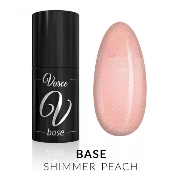 base shimmer peach vasco 6ml