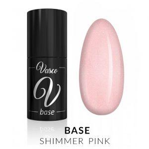 Vasco Base Shimmer Pink 6ml
