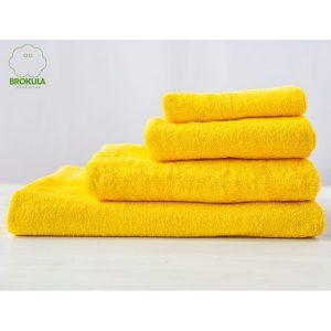 Ručnik BROKULA KORNATI, žuti, 30*50