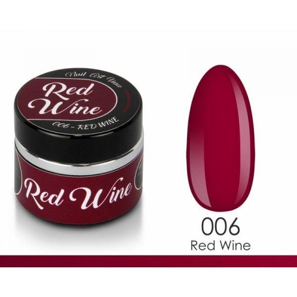 paint gel vasco 006 red wine 8 ml