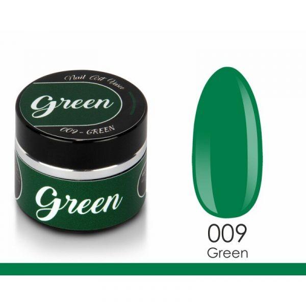 paint gel vasco 009 green 8 ml