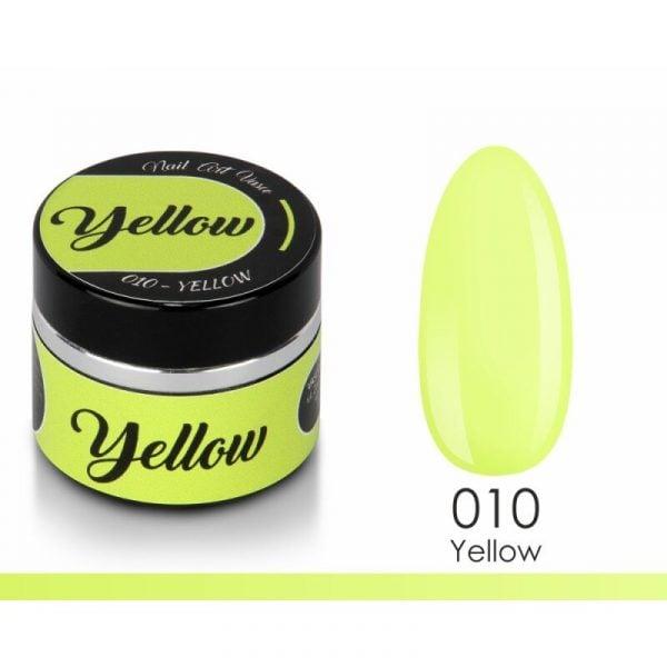paint gel vasco 010 yellow 8 ml