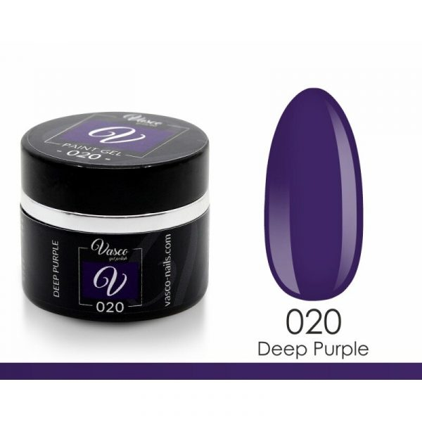 paint gel vasco 020 deep purple 5 g