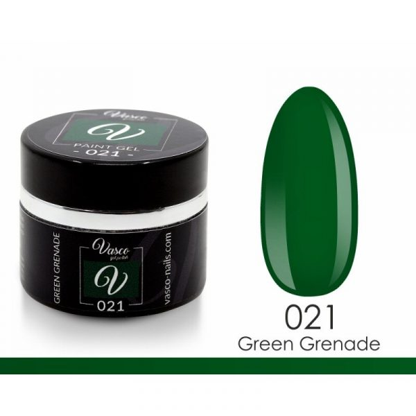 paint gel vasco 021 green grenade 5 g