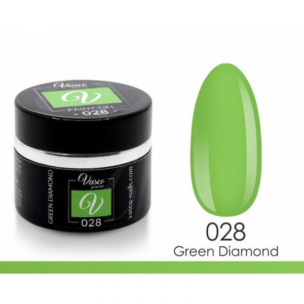 paint gel vasco 028 green diamond 5 g