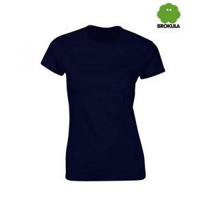 Ženska majica kratki rukav BROKULA KRKA, tamno plava