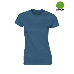 Ženska majica kratki rukav BROKULA NERETVA, plava