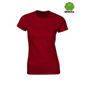 Ženska majica kratki rukav BROKULA KRKA, crvena