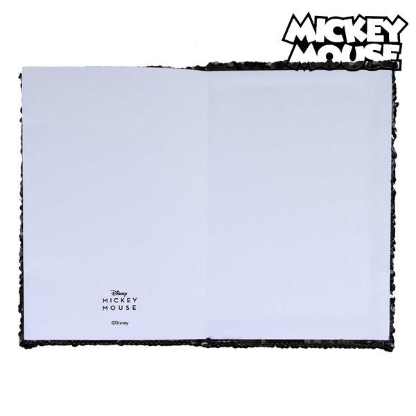 biljeznica carobna sirena sa sljokicama mickey mouse 133666 4