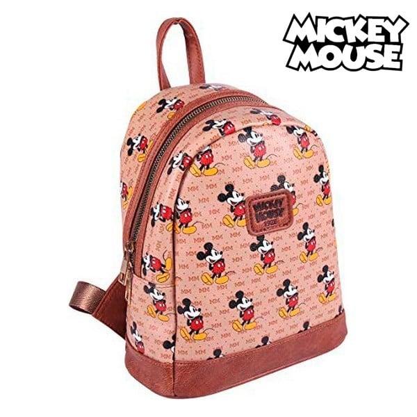 casual ruksak mickey mouse 19 5 x 25 x 11 cm smeda 158402