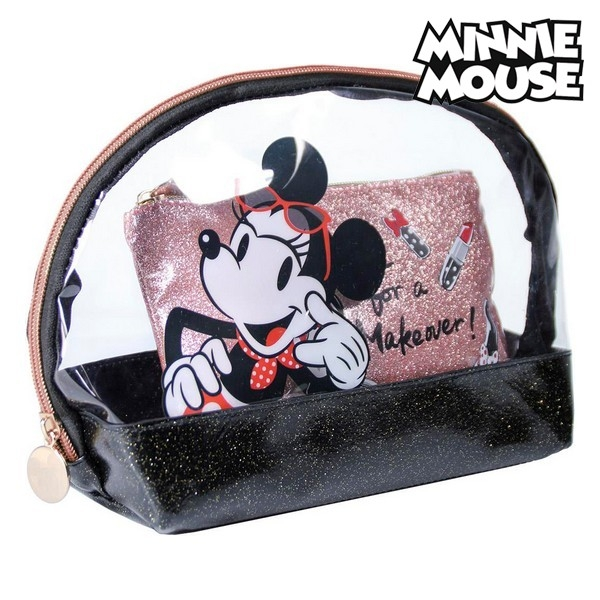neseser minnie mouse crna 2 pcs 158401