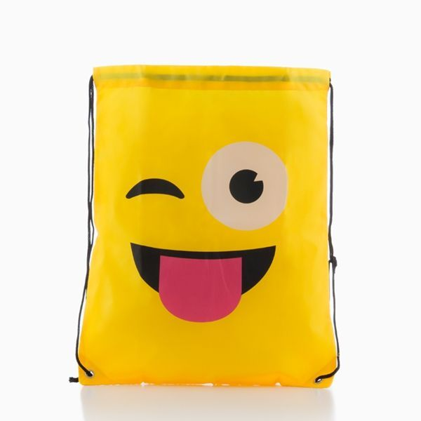 ruksak torba s konopima na emotikone