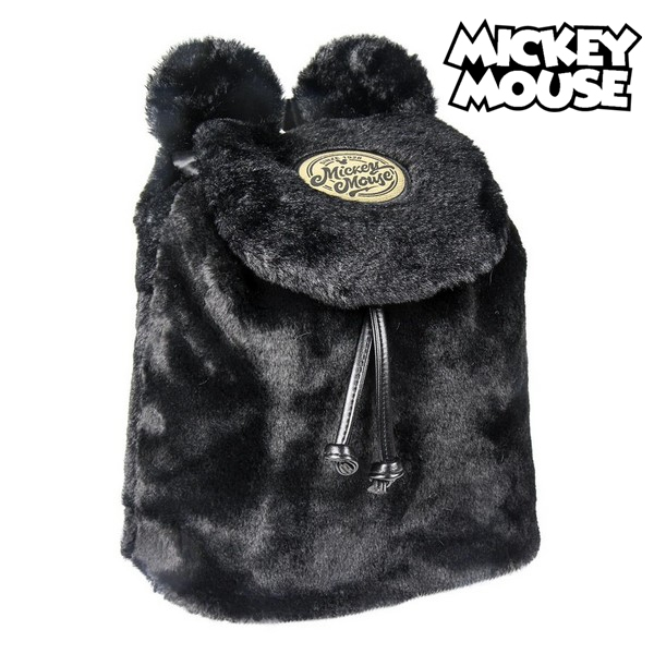 casual backpack mickey mouse black 120502