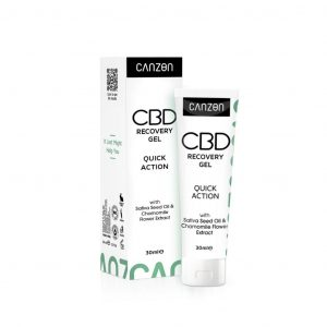 CBD Quick Action gel za oporavak, 30ml