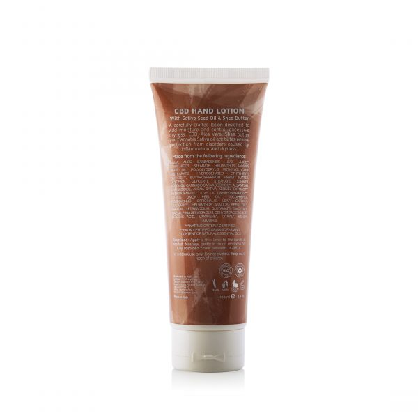 canzon 118 Hand Lotion Back