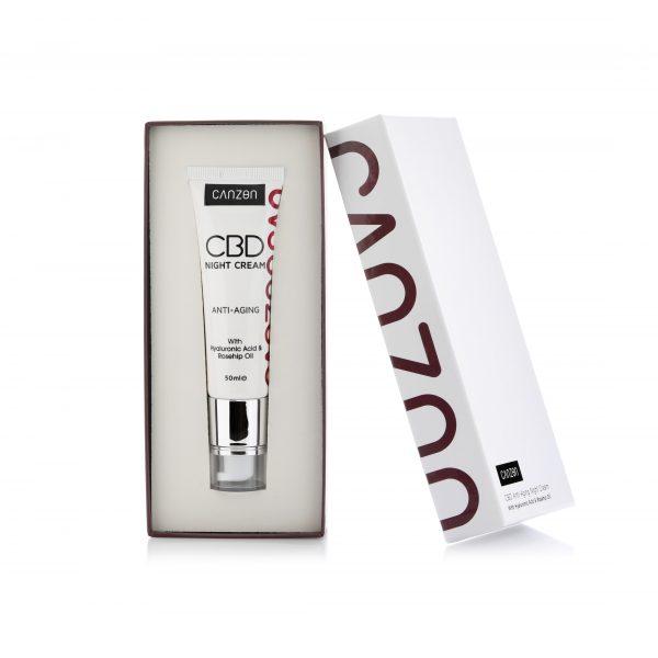 canzon 242 Anti Aging Night Cream Inside the