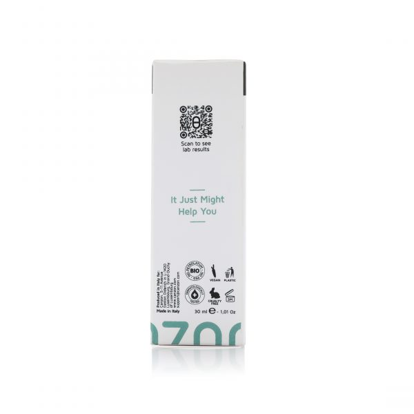 canzon 257 Long Term Action Recovery Cream Box Side